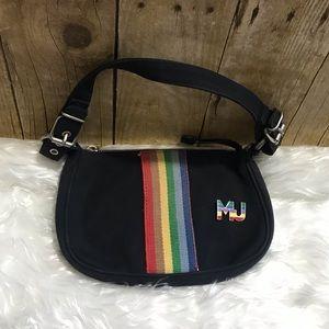 Marc Jacobs Rainbow Canvas Mini Purse